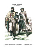 German Costumes: Chief of the German Court and Household Guard Wall Decal
