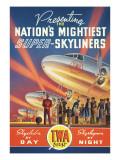 Super Skyliners Autocollant mural par Kerne Erickson