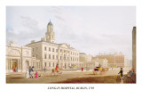 Lying-In Hospital, Dublin, 1795 Wall Decal by James Malton