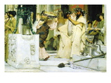 The Grape Harvest Festival, Detail Wall Decal by Sir Lawrence Alma-Tadema