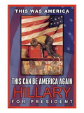 Hillary For President Wall Decal