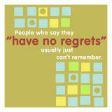 Have No Regrets Wall Decal