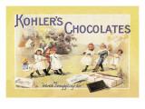 Kohler's Chocolates Wallstickers