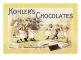 Kohler's Chocolates Wall Decal