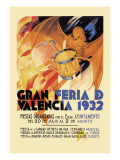 Gran Feria de Valencia 1932 Wall Decal
