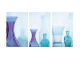 Cool Spa Triptych Wall Decal