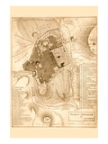 Solomon's Temple - Jerusalem Decalque em parede por Frederick Catherwood