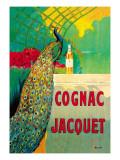 Cognac Jacquet Wallstickers af Camille Bouchet