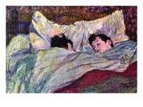 Durmiendo Vinilos decorativos por Henri de Toulouse-Lautrec