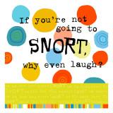 Snort Laugh Wallstickers