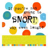 Snort Laugh Wall Decal