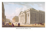 Royal Exchange, Dublin, 1792 Wall Decal by James Malton