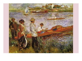 Rameurs a Chatou Wall Decal by douard Manet