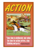 Action Wall Decal