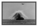 Bombing of the Uss Alabama Wall Decal
