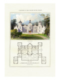 Mansion in the Stuart Style, James I Wall Decal by Richard Brown