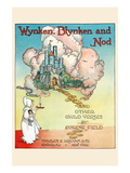 Wynken, Blynken, and Nod Wall Decal by Eugene Field