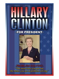 Hillary Clinton For President Wall Decal