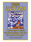 Take Action Wall Decal