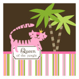 Queen of the Jungle Wallstickers