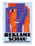 Reklame Schau Wall Decal by Fritz Rosen