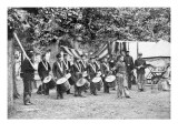 Civil War Drum Corps Wall Decal