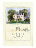 Tudor Suburban Residence Wall Decal by Richard Brown