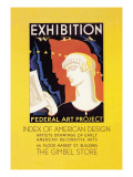 Wpa Federal Art Project: Index of American Design Wall Decal by Katherine Milhous