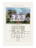 Tudor Manor House, Henry VIII Wall Decal by Richard Brown