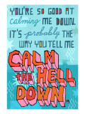 Calming Me Down Wall Decal