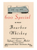 600 Special Bourbon Whiskey Wall Decal