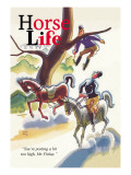 Horse Life Magazine Wall Decal