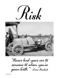 Risk Wall Decal by Wilbur Pierce