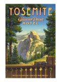 Yosemite, Glacier Point Hotel Adhésif mural par Kerne Erickson