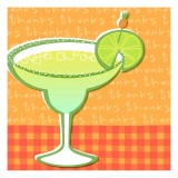 Margarita Thanks Wall Decal