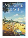 Miramar Beach, Montecitos Adhésif mural par Kerne Erickson