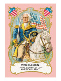 Washington Taking Command of the American Army Wall Decal