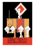 Charles Prelle's Animal Circus Wall Decal