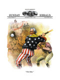 Sunday Herald Supplement: Play Ball Wall Decal