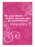 Drama Queen Royalty Wall Decal