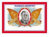 Franklin D. Roosevelt Cigars Wall Decal