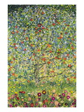 Apple Tree Muursticker van Gustav Klimt