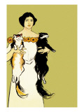 Springtime Felines Wall Decal by Edward Penfield