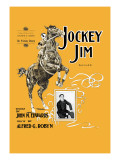 Jockey Jim Ballad Wall Decal