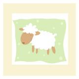 Cheerful Lamb Muursticker
