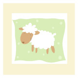 Cheerful Lamb Wall Decal