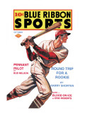 Blue Ribbon Sports: Round Trip for a Rookie Wall Decal