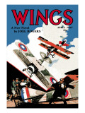Wings Wall Decal by Rudolph Belarski