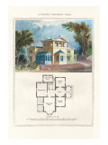 Pompeii Suburban Villa Wall Decal by Richard Brown