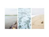 Coastal Patterns Triptych Wall Decal